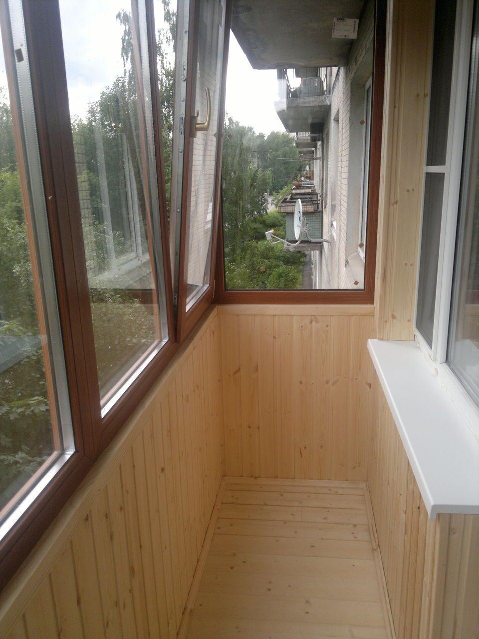 Теплое / холодное остекление балконов и лоджий / замена фаса.